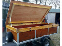 Camping Trailer - 7.5ft x 4ft with lockable lid