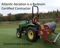 FALL Lawn Aerating and Rolling