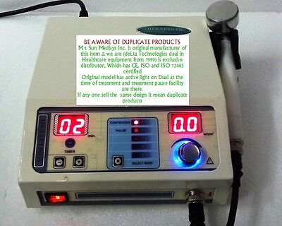 Ultrasonic Therapy Deep Heat Digital Unit Ultrasound Therapy Pain Relief Machine