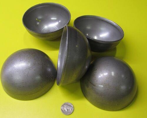 """Hot Rolled Steel Half Sphere / Balls 4.00"""" Diameter x 2.0"""" Height, 5 Pieces"""
