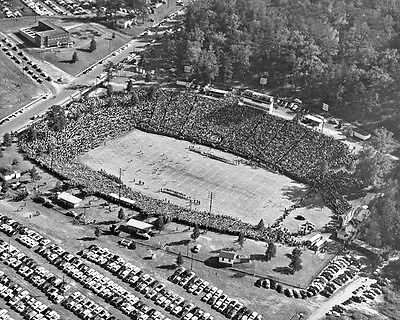 Clemson Tigers Memorial - 1955 Clemson Tigers MEMORIAL STADIUM Glossy 8x10 Photo College Field Poster