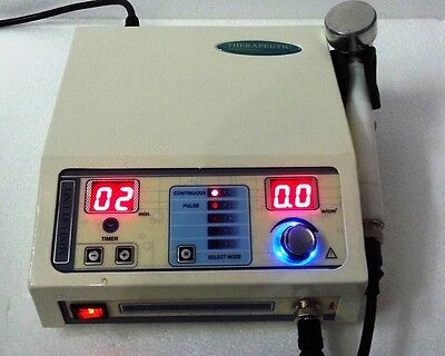 Ultrasound Therapy 1 Mhz Machine Portable Chiropractic Deep Heat Tissue Ft34