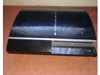 PS3 320GB PHAT WITH GAMES & RETRO GAMES