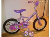 "Girls 14""Apollo Petal Bike"