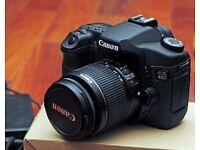 Canon Eos 40D + 18-55mm IS Lens