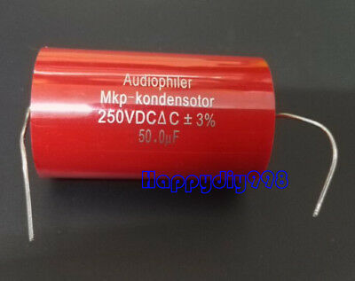 1pc Audiophiler Mkp Audio Capacitor 250v 50uf