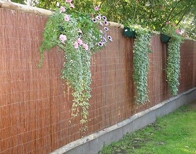 WILLOW SCREENING ROLL Garden Screen Fencing Panel Fence Wooden Outdoor 4m Long