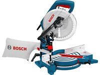 Bosch GCM 10 Professional Mitre Saw - Chop Saw. Brand New with 2 Blades. 240v