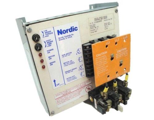 Nordic    2734H30PPG   7 1/2 HP Motor Starter and Brake