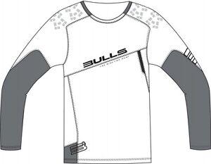 Bulls-team-Maglioncino-Maglia-freeride-downhill-Freestyle-Shirt-Manica-Lunga-Nuovo