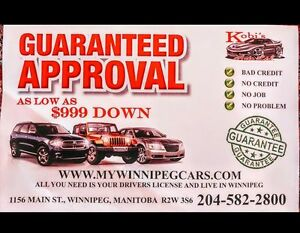 YOU LIVE IN WPG AND HAVE A LICENSE, THEN YOU ARE APPROVED!!!!!!!