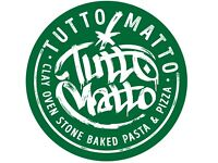 Part time bar staff required | Tutto Matto