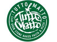 Part Time Floor staff for Tutto Matto