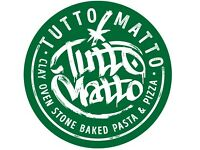 Assistant Manager required for Tutto Matto Edinburgh