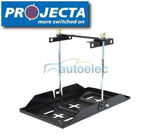 PROJECTA CAR BATTERY TRAY HOLD DOWN KIT DUAL DEEP CYCLE UNIVERSAL MBT200 BHD18M