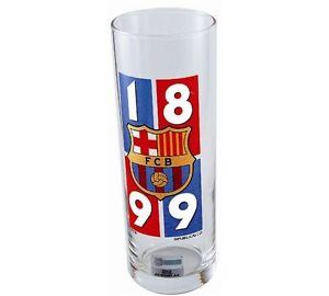 OFFICIAL-FC-BARCELONA-CREST-1899-GLASS-TUMBLER-MUG-NEW-GIFT-XMAS
