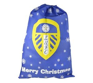 OFFICIAL FOOTBALL TEAM - XMAS SANTA GIFT PRESENT SACKS DECORATION GIFT