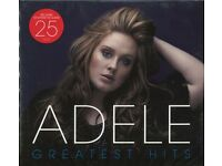 adele greatest hits 2 cd very rare new sealed