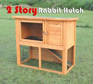 Warehouse pickup 104cm wooden rabbit hutch cage Riverwood Canterbury Area Preview