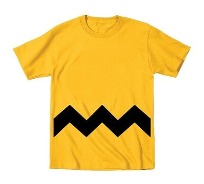 Charlie Brown Toddler Stripe  Costume  Baby  Kids Gold Toddler T-Shirt - Charlie Brown Costume Toddler