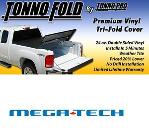 Folding Tonneau Covers FORD DODGE CHEV & MORE - FREE SHIPPING! Prince George British Columbia image 8