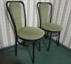 2 commercial quality bistro chairs