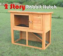 Warehouse pickup 104cm timber wooden rabbit hutch cage Riverwood Canterbury Area Preview