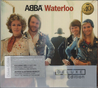 ABBA ‎– Waterloo Deluxe Edition – CD Album DVD-Video NTSC 40th Anniversary NEW