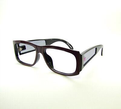 Playboy 4670A 98 Black and Purple Eyeglasses Vintage