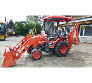 Small backhoe in need of repair or not