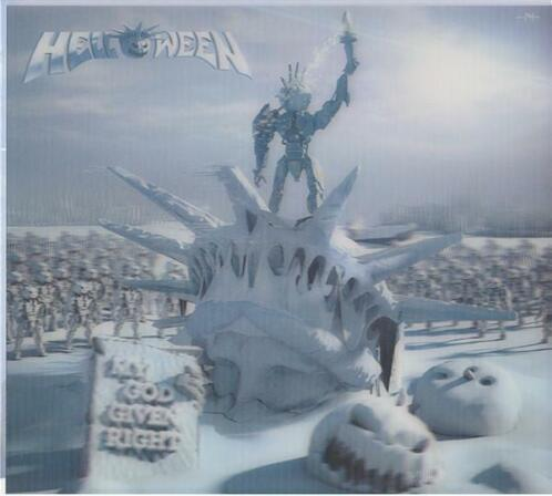 cd - Helloween - My God-Given Right 3-D Cover Digipack