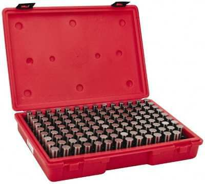 Value Collection 125 Piece 0.626-0.75 Inch Diameter Plug And Pin Gage Set Mi...