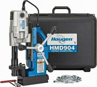 Hougen 34 Chuck 2 Travel Portable Magnetic Drill Press 450 Rpm 9 Amps ...