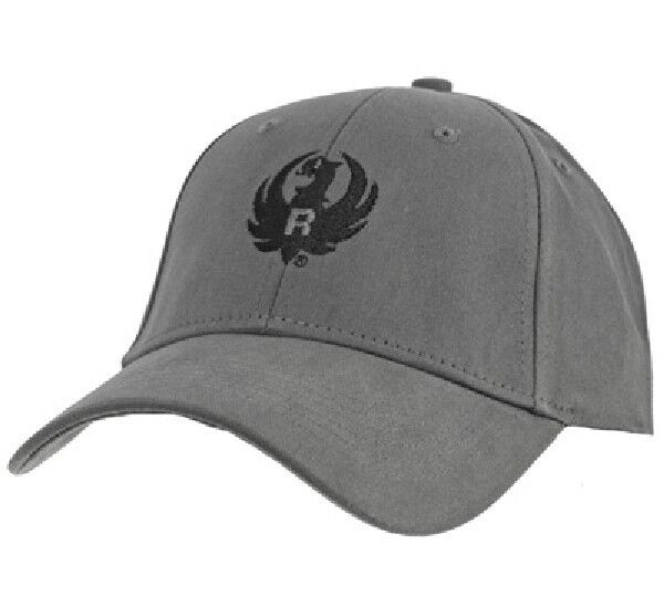 Officially Licensed Ruger Dark Gray Brushed Cotton Hat