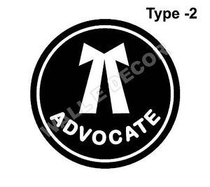 reflective vinyl  quot advocate logo quot  sticker for car  jeep ebay advocare logo advocate login portal