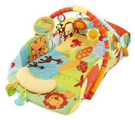 Bright Starts Swingin Safari Baby's Play Place excellent condition boxed