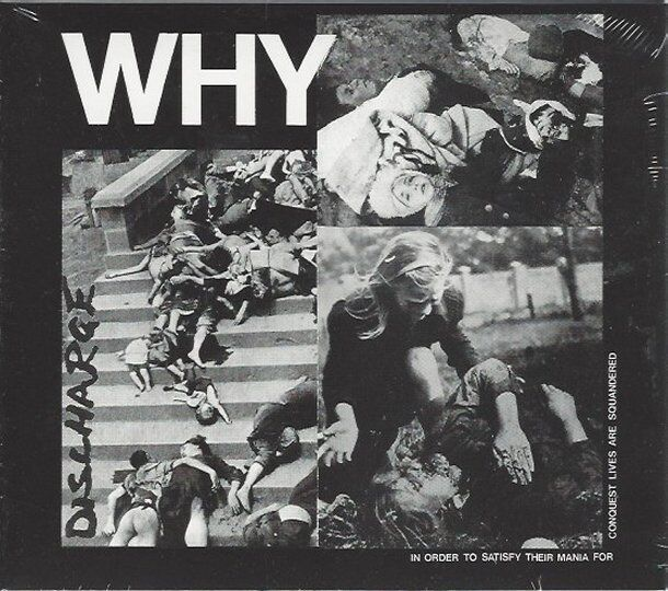 DISCHARGE - WHY - (still sealed digi-pak cd) - AHOY DPX 619