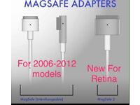 Genuine and replacement Apple MacBook power adapter