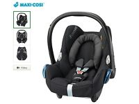Absolutely BRAND NEW (unopened) Maxi-Cosi CabrioFix Group 0+ Baby Car Seat, Black Raven