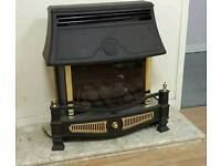 Good quality gas fire not very old and marble Harth can deliver call 07808222995