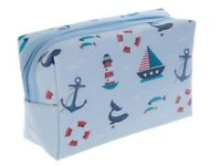 Nautical make-up/wash bag