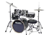 Drum Kit Mapex V-Series Black 5 Piece Drum Set