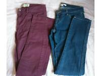 Womens jeans size 8 - Fat Face and Forever 21