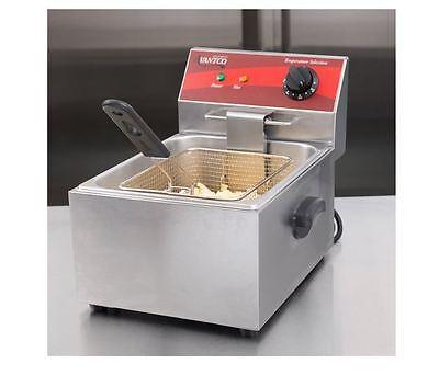 Commercial Electric Fryer 10 Lb. Countertop Food Truck Bar Deli 120v 1750w