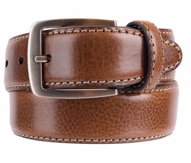 Купить Kirkland Signature - NIB Kirkland Signature Men's Italian Leather Full Grain Belt Brown Select Size