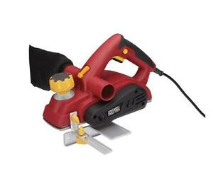 HOC - 3-1/4 INCH 7.5 AMP HEAVY DUTY PLANER WITH DUST BAG + FREE SHIPPING + 90 DAY WARRANTY