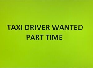Full time taxi driver Mansfield