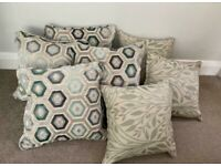 LARGE CUSHIONS x7 SCATTER NEW TAGGED