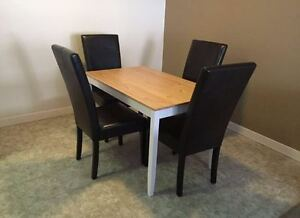 04x Brown Dining Chairs