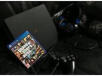 PS4 slim 500GB with GTA V